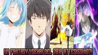 UN ANIME FANTASY/ISEKAI ATTESISSIMO DA TUTTI? TRAILER REACTION!