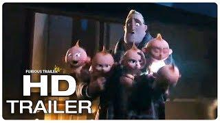 Incredibles 2 Jack Jack New Powers Trailer (2018) Superhero Movie Trailer HD