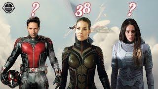 Ant Man and the Wasp From Oldest to Youngest