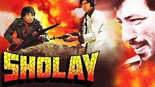 SHOLAY (1975) FULL MOVIE HD [AMITAB BACHCHAN, JAYA BACHCHAN, DHARMENDRA, HEMA MALINI]