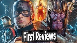AVENGERS ENDGAME REVIEWS BREAKDOWN | Best Superhero Movie EVER??