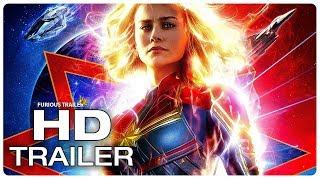 CAPTAIN MARVEL Trailer #2 Teaser (NEW 2019) Brie Larson Superhero Movie HD