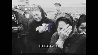 Liberation of Majdanek 1/4 - 300263X | Footage Farm Ltd