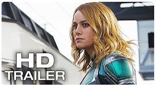 CAPTAIN MARVEL Arrives On Earth Trailer (NEW 2019) Marvel Superhero Movie HD