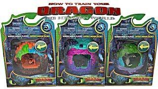 Complete Set - How To Train Your Dragon 3 The Hidden World Movie Toys Complete Playset