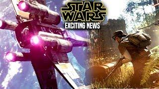 Star Wars! Exciting News Of This Project & More! (Star Wars News)
