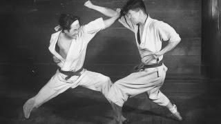 Historical rare old Karate do film  Part 1 HD
