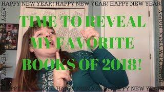 My Favorite Books of 2018! || Fantasy Book League Style!