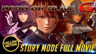 DEAD OR ALIVE 6   Story Mode Full Movie All Cutscenes PS4 Pro