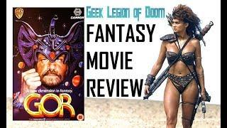 GOR ( 1987 Urbano Barberini ) aka John Norman's Gor. Fantasy Movie Review