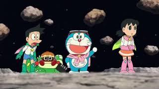 """Part-4 Doraemon the movie """"Nobita Aur Antriksh Daku"""" in Hindi full movie."""