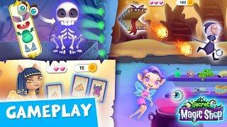 NEW Halloween Game & Challenge ???? Secret Magic Shop - Fun Fantasy World for Kids | TutoTOONS Gamep