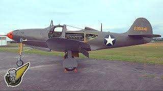 P-39 Airacobra - One Of The Rarest WW2 Warbirds