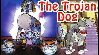 The Trojan Dog Movie In Hindi | Animated Fantasy Film | Cartoon Movies In Hindi
