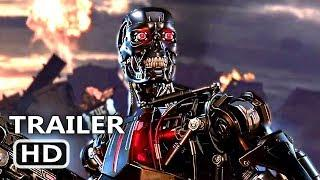 "TERMINATOR DARK FATE ""Gears Of War 5"" Trailer (2019) Action Game HD"