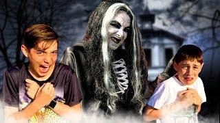 OMG! The Witch Is Back!!  - Scary Kids Fun