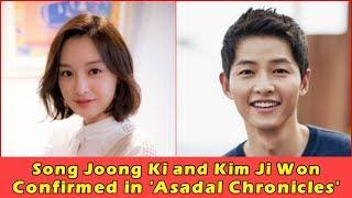 Song Joong Ki and Kim Ji Won Confirmed for Upcoming Historical Drama 'Asadal Chronicles'