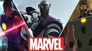 Sentinels Evolution in Movies,Cartoons and Games (2019)