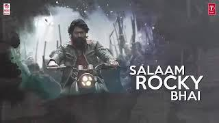 Kannada industry professionals story of kgf film salaam rocky  baai Kannada historical subject  all