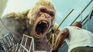 RAMPAGE Movie All Battle Scenes | Best Moments (2018)