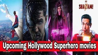 Upcoming Hollywood Superhero movies 2018 - 19