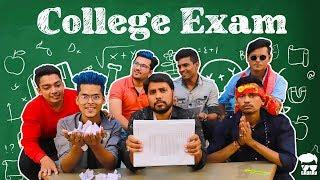 Collage Exam || Gujrati Comedy Video - Kaminey Frendzz