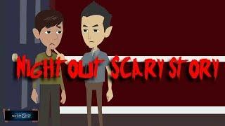 NightOut Scary Story (Animated in Hindi) |IamRocker|