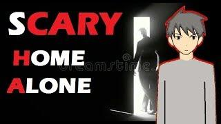 SCARY STORY || HOME ALONE HORROR ANIMATED STORY IN HINDI