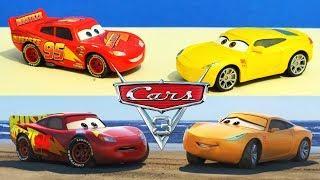 Disney Cars 3 : Fireball Beach Scene Reenactment Comparison - StopMotion