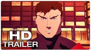The Death Of Superman Trailer #1 (2018) Superhero Animated Movie Trailer HD