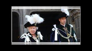 Prince William's Order of the Thistle Outfit in Scotland Historical Meaning Explained | by Royal We