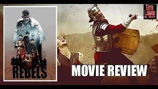 THE REBELS ( 2019 Mia McKenna-Bruce ) Roman Historical Movie Review