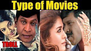 Movie | Type of Genre | Vadivelu Version | Troll