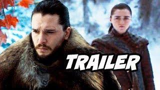 Game Of Thrones Season 8 Trailer 3 Breakdown - Jon Snow and Arya Stark