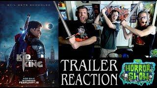"""""""The Kid Who Would Be King"""" Kids Dark Fantasy Movie Trailer Reaction - The Horror Show"""
