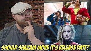 Should Shazam! Move its Release Date? - Ask Robert