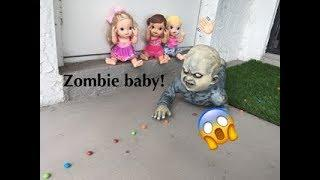 BABY ALIVE: The  attack of the Scary zombie baby! Baby alive horror film