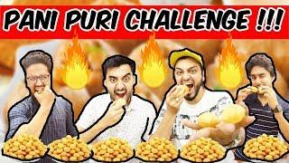 FUNNY PANI PURI-GOLGAPPA FOOD CHALLENGE 2 | HYDERABADI COMEDY | The Baigan Vines