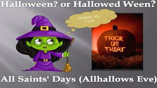 The Meaning Of Halloween - Megyn Kelly Black Face - Al Roker White Face- Origin of halloween