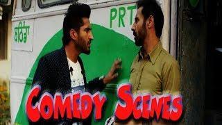 Binnu Dhillon Jassi Gill Comedy Scenes | WaqarAliT