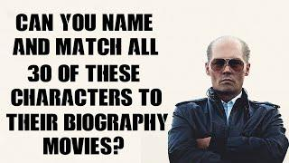 Episode 1 - Can You Name & Match All These Characters To Their Biopic?