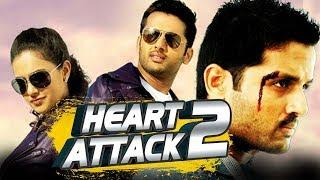 Heart Attack 2 (Gunde Jaari Gallanthayyinde) Telugu Hindi Dubbed Full Movie | Nithin, Nithya Menen