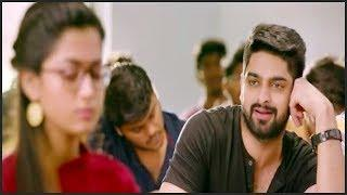 Naga Shaurya & Rashmika Class Room Non Stop Comedy Scene   Telugu Movie Zone