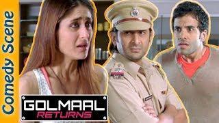 #Shemaroo indianComedy - Golmaal Returns Comedy Scene - Arshad Warsi - Ajay Devgn - Kareena
