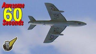 60 Seconds Of Awesome: Hawker Hunter Jet Fighter