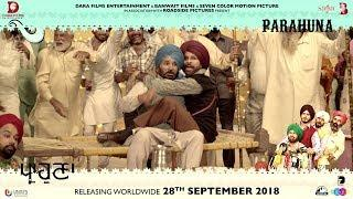 Parahuna - Making Of Harby Sangha   Punjabi Comedy Movie   28th September