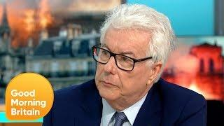 Historical Author Ken Follett Comments on the Devastating Notre-Dame Fire | Good Morning Britain