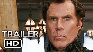 HOLMES AND WATSON Official Trailer (2018) Will Ferrell, John C. Reilly Comedy Movie HD
