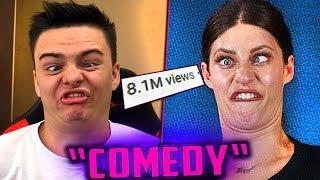 "TERRIBLE ""Comedy"" Got 8 MILLION VIEWS! 