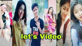 New TikTok video let's Odia video All user Comedy video
